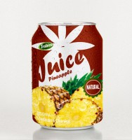Pineapple juice drink 250ml short can