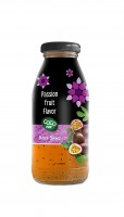 basil seed with passion  flavor 250ml glass bottle