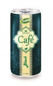 175ml aluminum can Black Coffee -