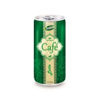 175ml aluminum can Latte Coffee