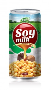 180ml Soy milk chocolate Flavor