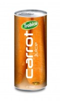 19 Trobico Carrot juice alu can 250ml