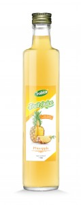 1L Glass bottle Pineapple Juice