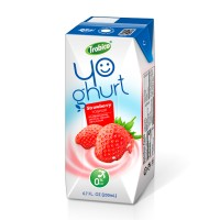200ml Aseptic Pak Blueberry Flavor Yoghurt Drink