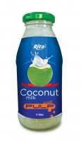 250ml Coconut Milk with Pulp