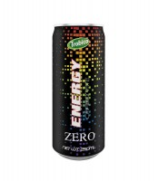 250ml aluminum can zero energy drink