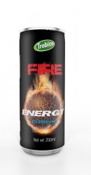 250ml fire energy drink