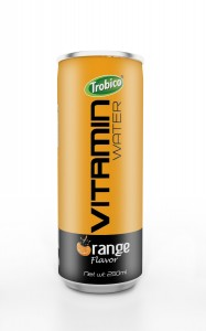 250ml vitamin water orange flavor