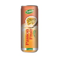 250ml Canned Natural Passion Fruit Drink