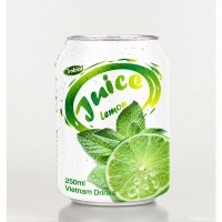 250ml short can Lemon fruit juice