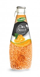 290ml chia seed drink with Orange Flavour
