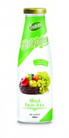 300ml Glass bottle Mix Fruit Juice