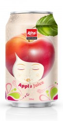 330ml Natural Apple Fruit  Juice Drink