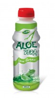 500ml Aloe vera low Sugur Glass bot
