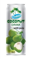 500ml Canned Coconut Drink with Pulp