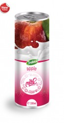 Trobico apple milk alu can 330ml