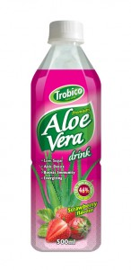 555 Trobico Aloe vera strawberry flavor pet bottle 500ml