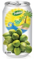 564 Trobico Coconut water alu can 330ml
