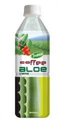 Aloe vera coffee flavor pet bottle 500ml