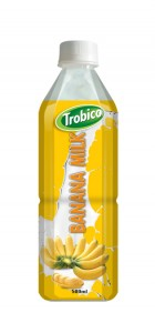 687 Trobico Banana milk pet bottle 500ml
