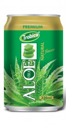 Natural aloe vera alu can 330ml