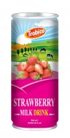 721 Trobico Strawberry milk alu can 250ml