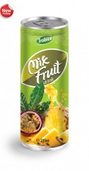 Mix fruit drink alu can 330ml