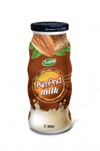 Almond milk Glass bottle 300ml