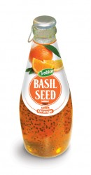 Basil seed with orange flavor 290ml