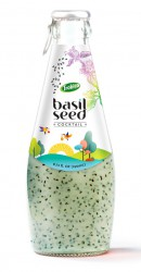 basil seed cocktail