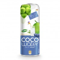 Coco water with pulp 330ml Trovico 03