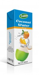 Coconut water with orange 200ml