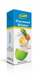Coconut water with pineapple 200ml