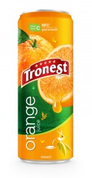 Tropical Juice 320ml Canned NFC Orange Fruit Drink
